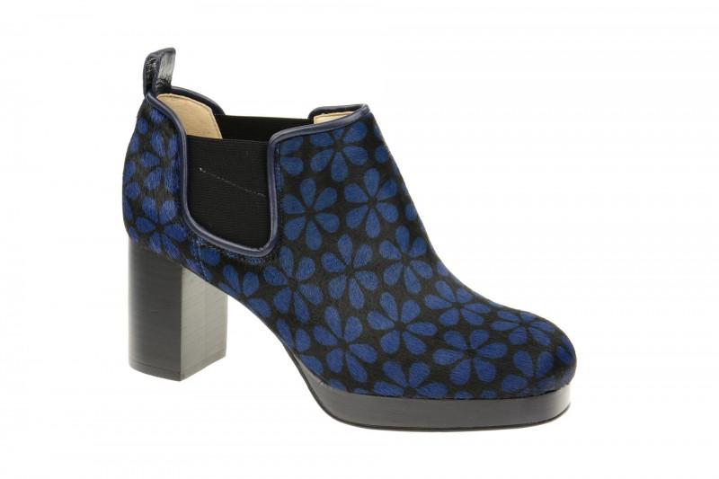 Clarks ORLA AUDREY elegante Stiefelette für Damen in blau