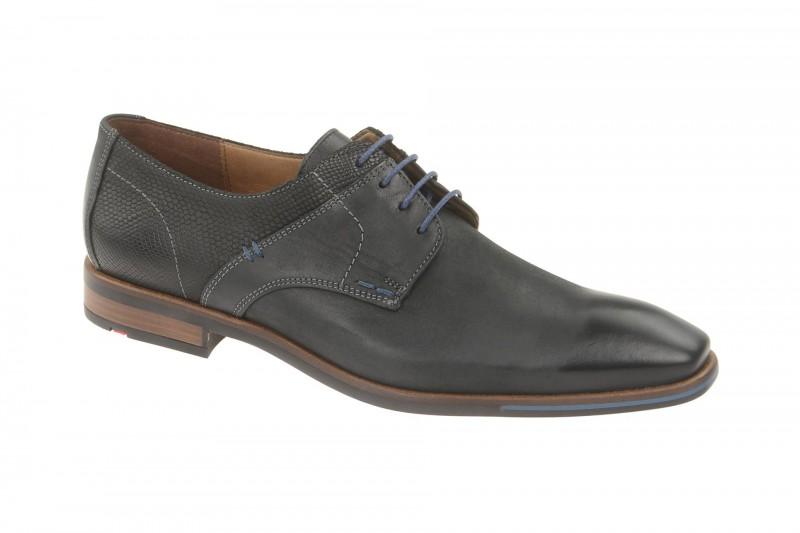Lloyd DAMIEN elegante Halbschuhe und Schnürschuhe für Herren in schwarz