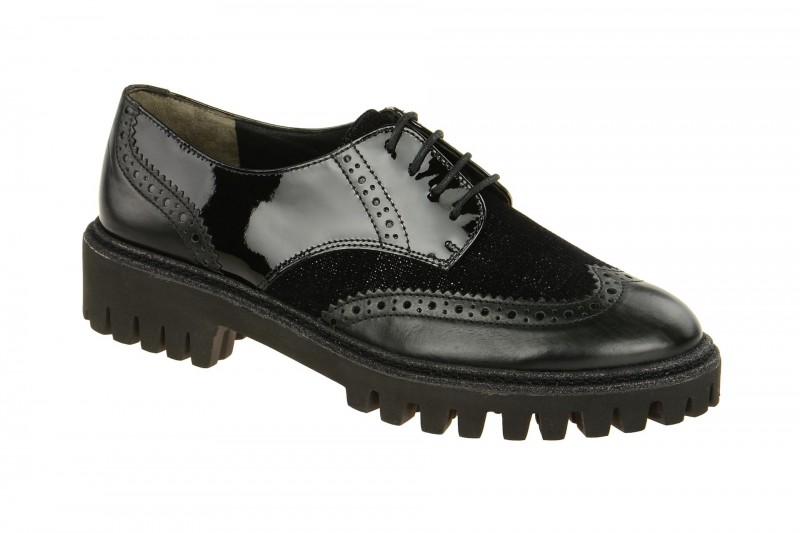 Paul Green 2292 elegante Halbschuhe für Damen in schwarz