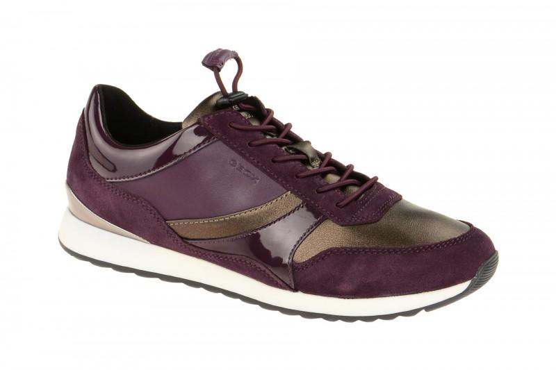 Geox Respira Deynna Sneakers in lila Damenschuhe hR939
