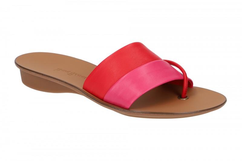 Paul Green 7523 Pantoletten für Damen in pink