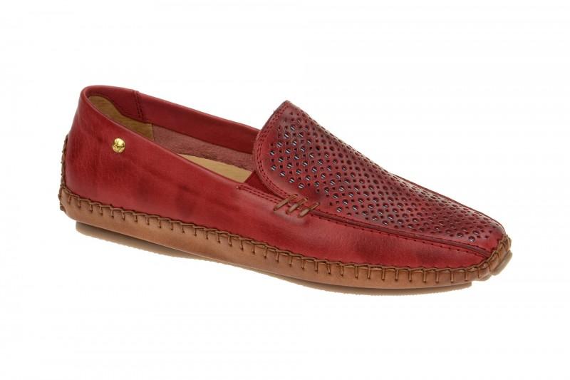 Pikolinos JEREZ bequeme Slipper für Damen in rot