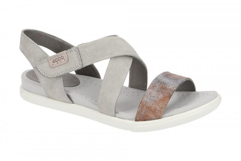 Ecco DAMARA SANDAL Sandalette für Damen in grau