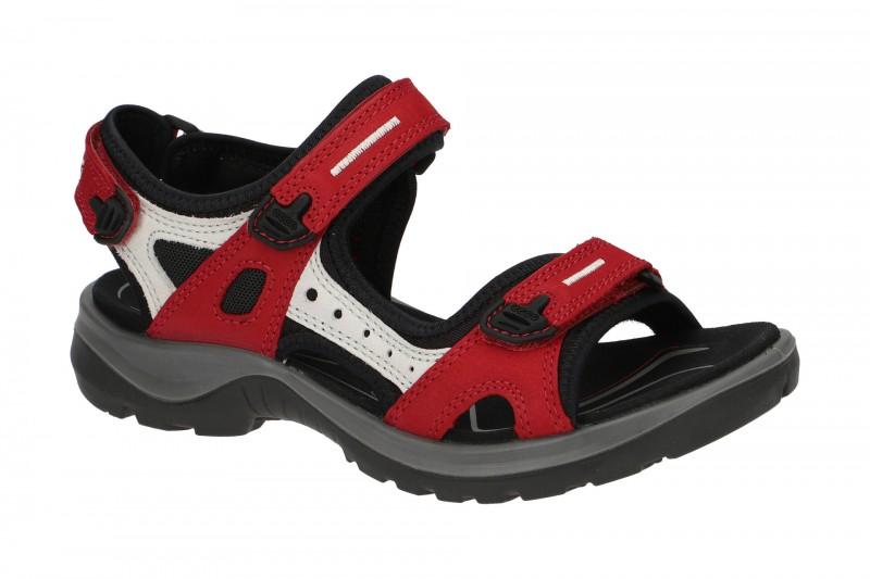 Ecco OFFROAD Outdoor Sandale für Damen in rot