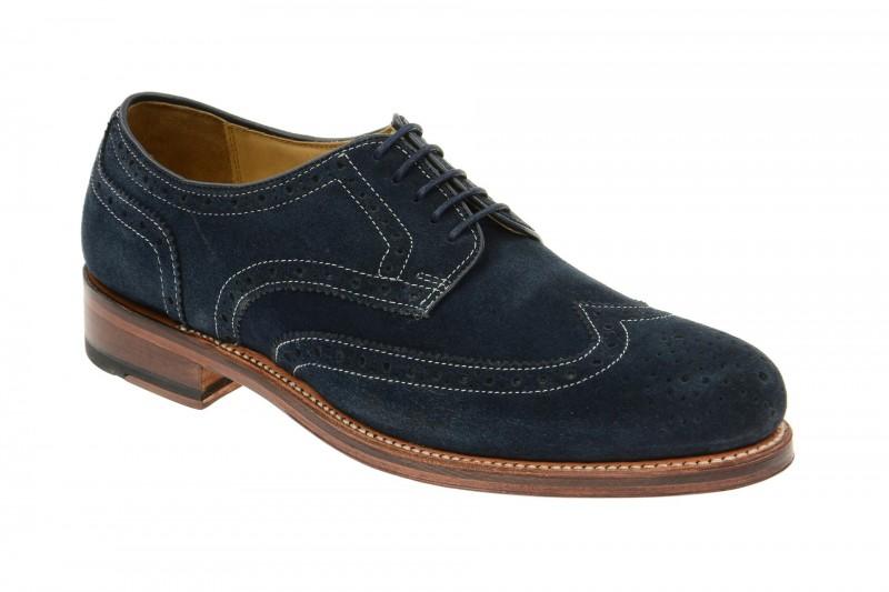Gordon & Bros. LEVET Rahmengenähte Schuhe für Herren in dunkel-blau