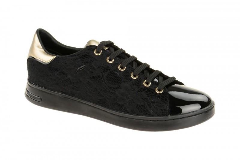 Geox Respira Jaysen A Damen Sneaker in schwarz gold