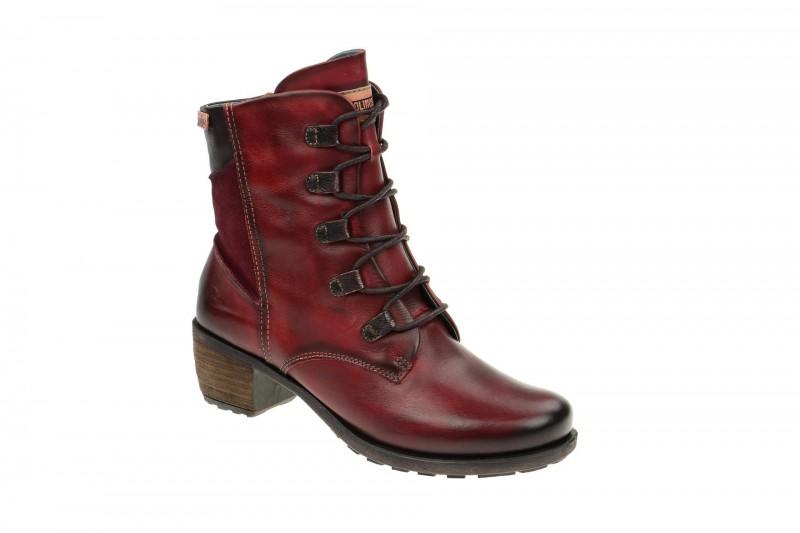 Pikolinos LE MANS elegante Stiefel für Damen in rot