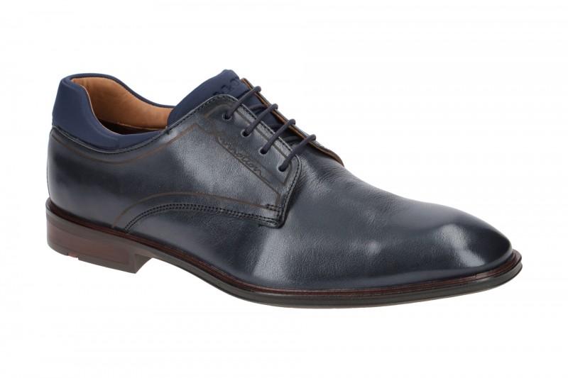 Lloyd MANUEL elegante Halbschuhe und Schnürschuhe für Herren in dunkel-blau