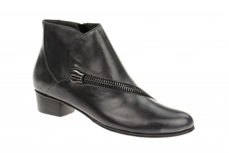 Everybody 53715 elegante Stiefelette für Damen in schwarz