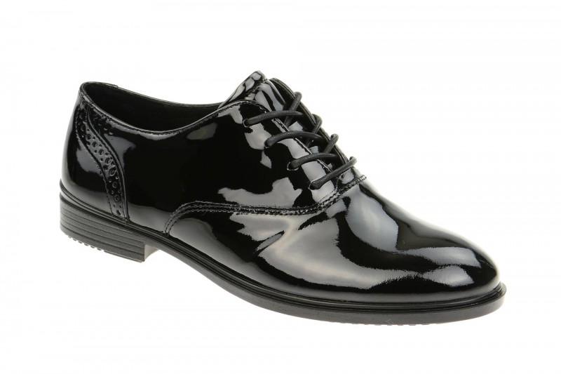 Ecco TOUCH 15B elegante Halbschuhe für Damen in schwarz