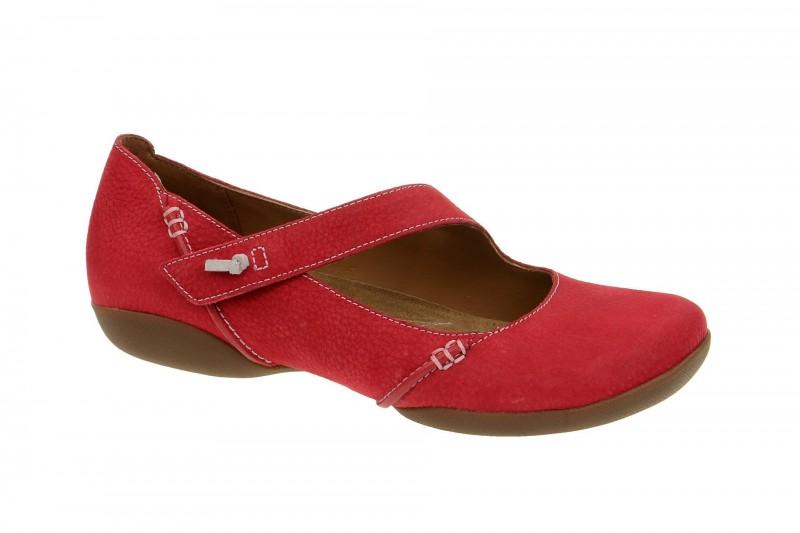 Clarks FELICIA PLUM bequeme Slipper für Damen in rot