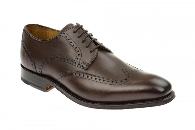Gordon & Bros. HAVRET Rahmengenähte Schuhe für Herren in dunkel-braun