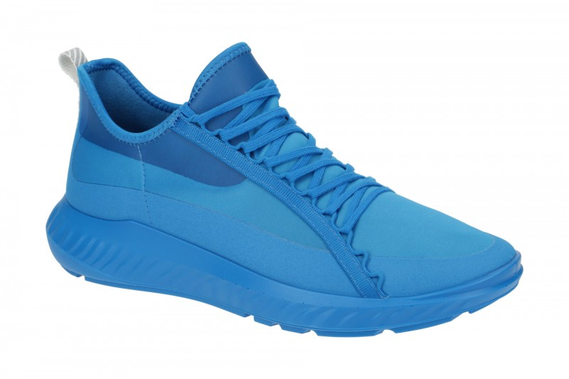Ecco ST.1 LITE MENS sportliche Halbschuhe für Herren in blau
