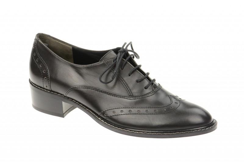 Paul Green 1436 elegante Halbschuhe für Damen in schwarz