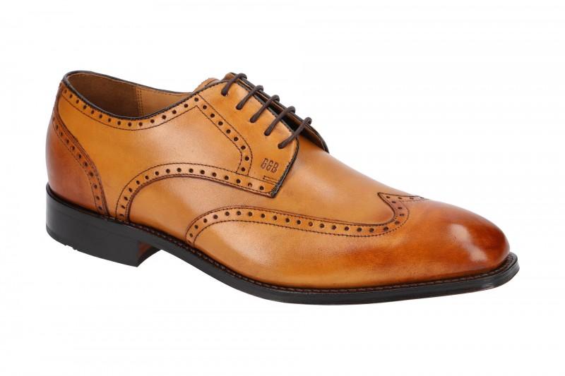Gordon & Bros. HAVRET Rahmengenähte Schuhe für Herren in hell-braun