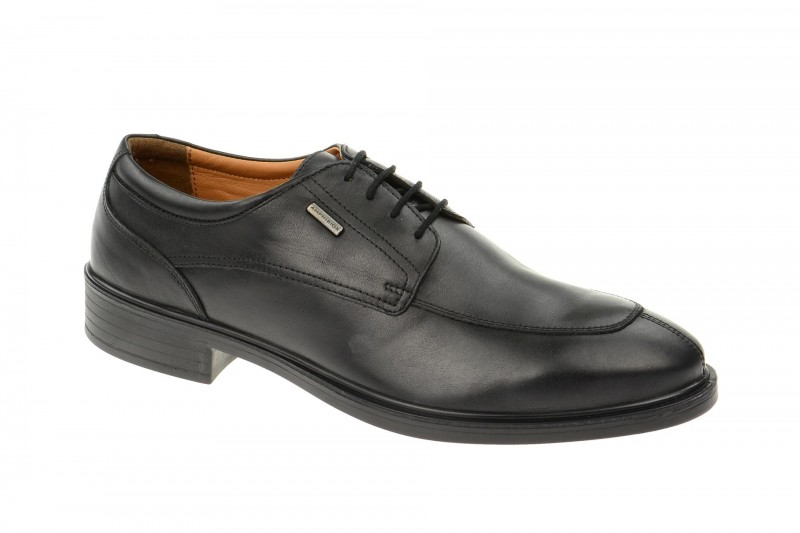Geox Respira Loris ABX Business Schuhe in schwarz - Amphibiox