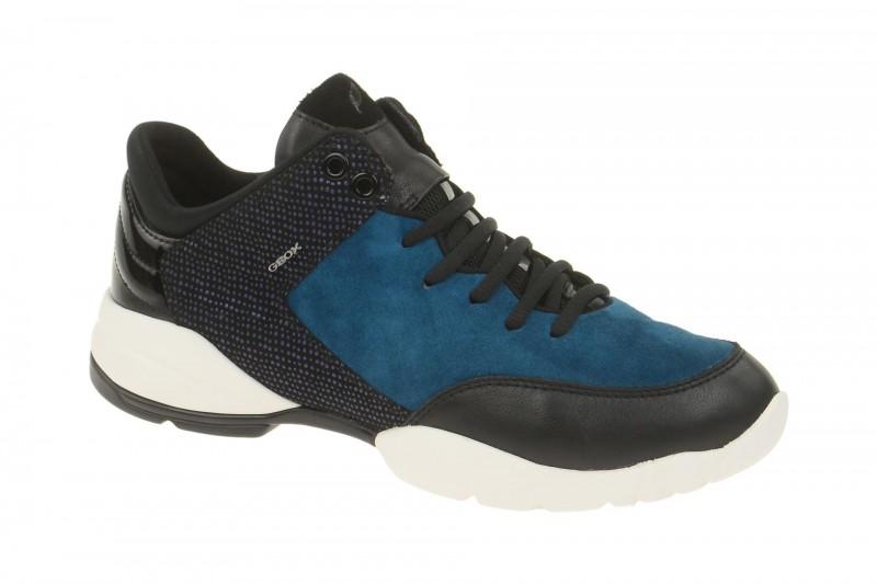 Geox Respira Sfringe Sneakers in blau dunkelblau