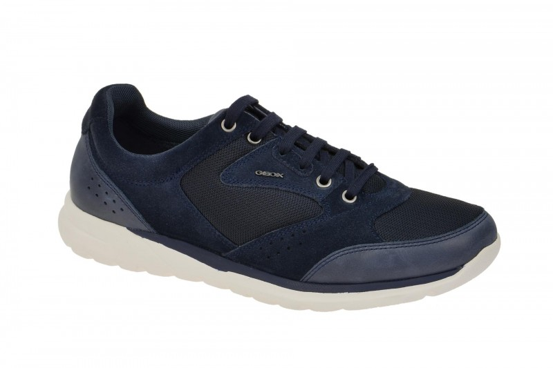 Geox Respira Damian A Sneakers in blau Herrenschuhe