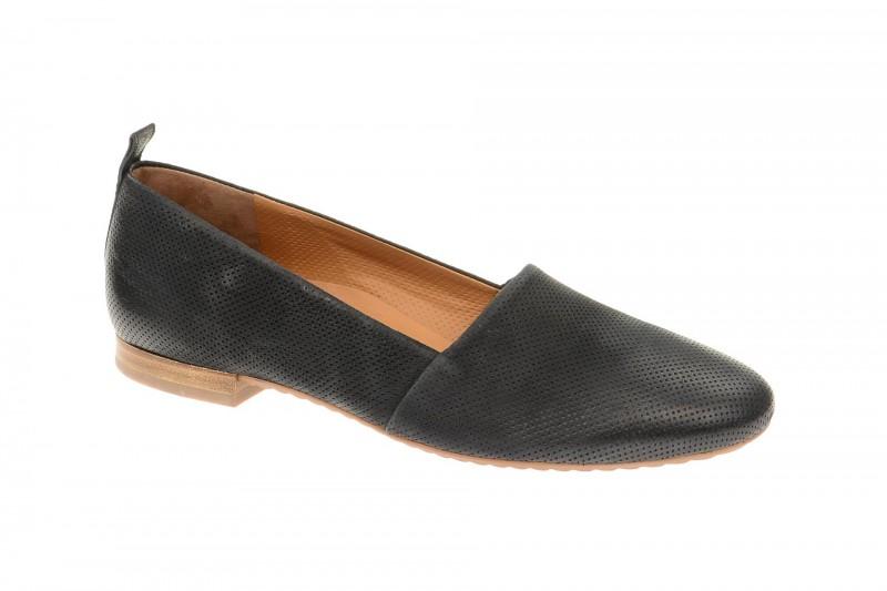 Paul Green 4243 elegante Slipper für Damen in schwarz