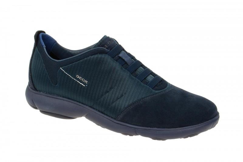 Geox Respira Nebula F Slippers in dunkelblau Herren Sneakers