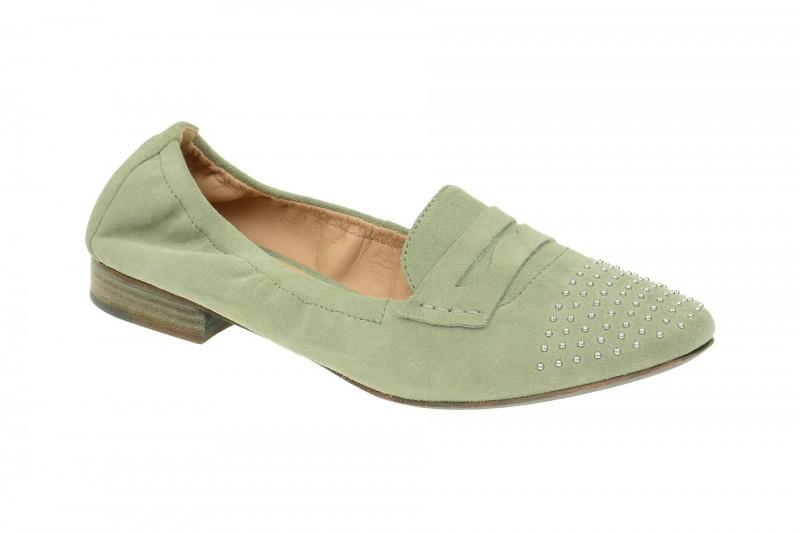 Geox Respira Alix Ballerina in grün Damenschuhe