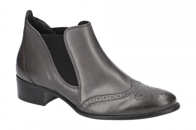 Paul Green 7358 elegante Stiefelette für Damen in grau