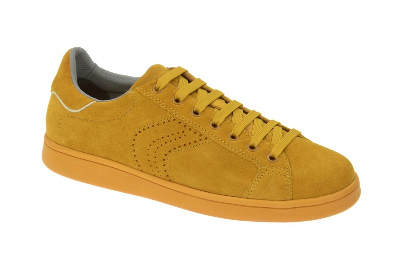 Geox Respira Warrens B Sneakers in gelb Herrenschuhe