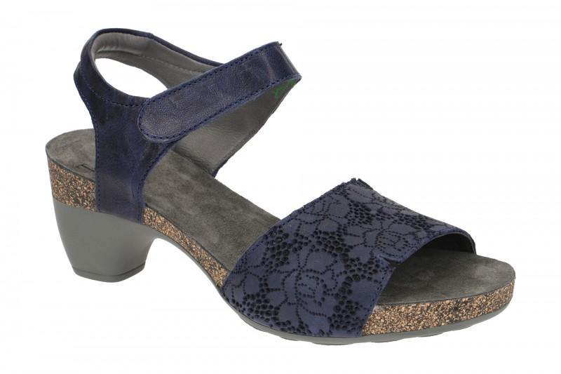 Think TRAUDI Riemchen Sandale für Damen in blau