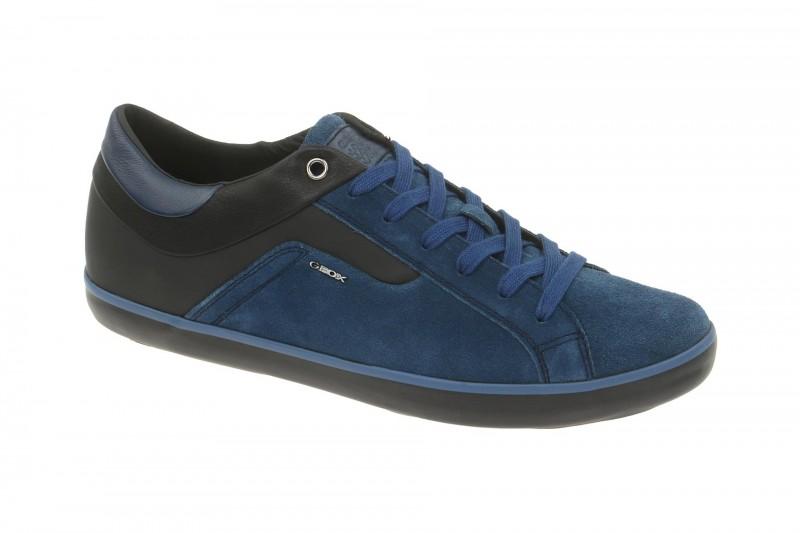 Geox Respira Box Schuhe in blau schwarz