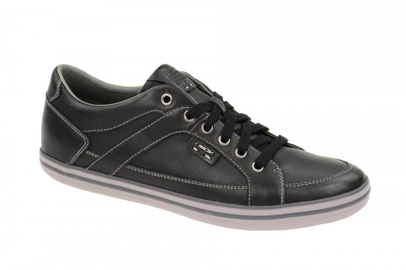 Geox Respira Box C Sneakers in schwarz Herrenschuhe