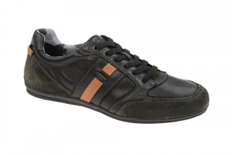 Geox Respira Houston A Sneakers in schwarz Herrenschuhe