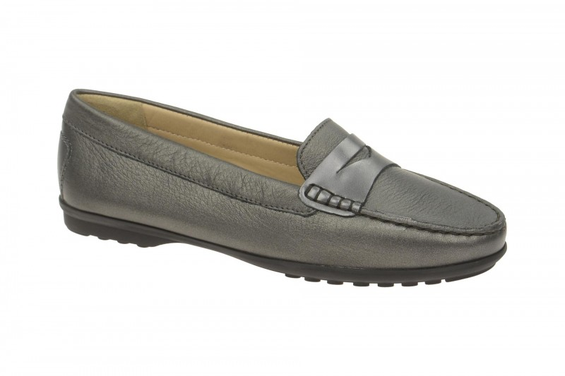 Geox Respira Elidia A Damen Slippers in grau metallic