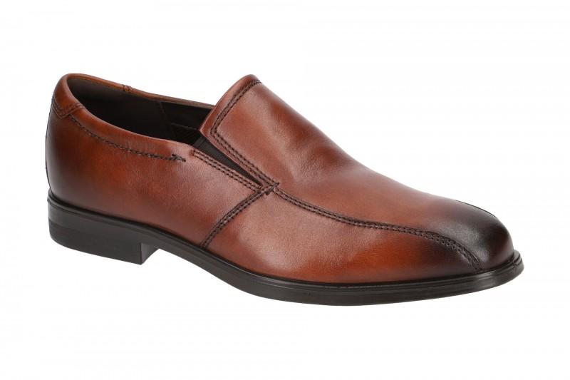 Ecco MELBOURNE elegante Slipper für Herren in braun