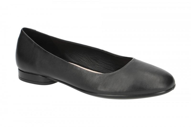 Ecco ANINE Ballerina - Halbschuhe - Slipper für Damen in schwarz