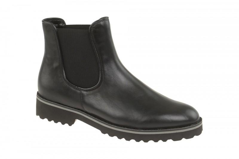 Gabor 51.680 elegante Stiefelette für Damen in schwarz