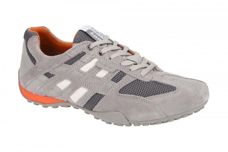 Geox SNAKE Sneakers für Herren in hell grau