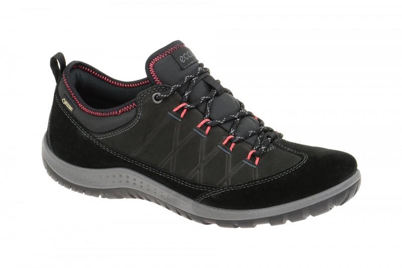Ecco ASPINA sportliche Halbschuhe für Damen in schwarz