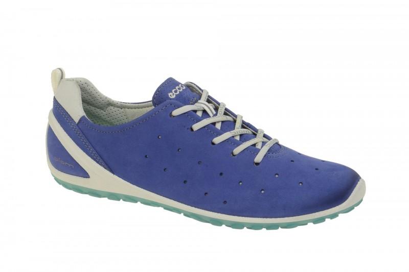 Ecco BIOM LITE sportliche Halbschuhe für Damen in blau