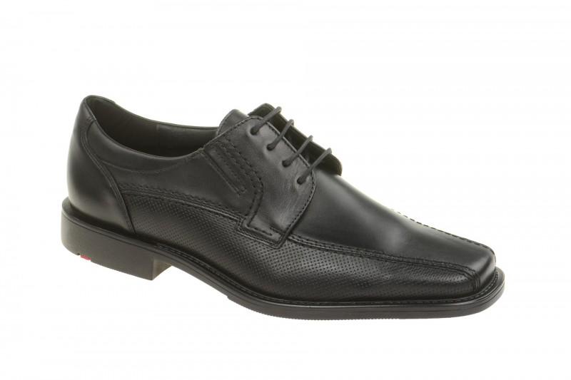 Lloyd KALANI elegante Halbschuhe und Schnürschuhe für Herren in schwarz