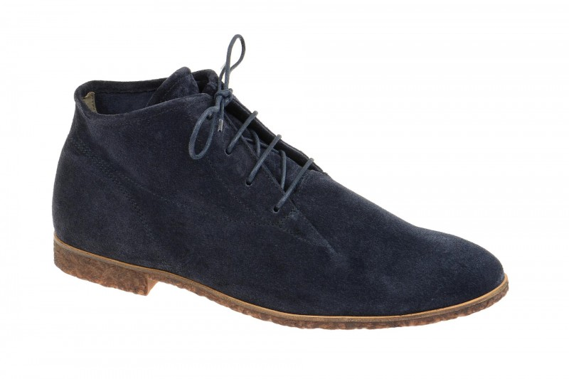Paul Green 1004 bequeme Stiefelette für Damen in dunkel-blau