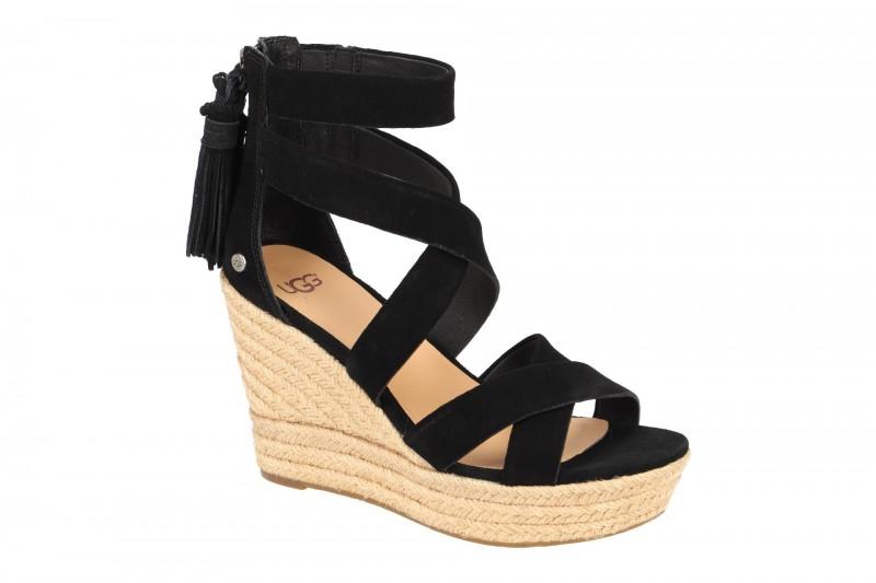 UGG RAQUEL Sandalette für Damen in schwarz