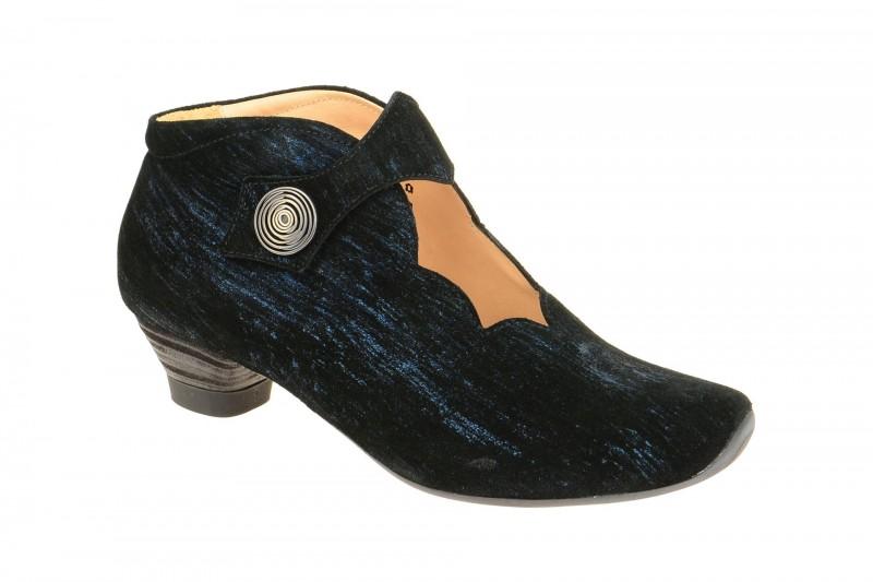 Think AIDA elegante Stiefelette für Damen in dunkel-blau