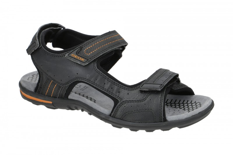Geox TEVERE Sandale für Herren in schwarz