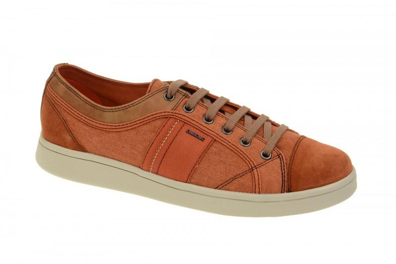 Geox Respira Warrens A Sneakers in orange Herrenschuhe