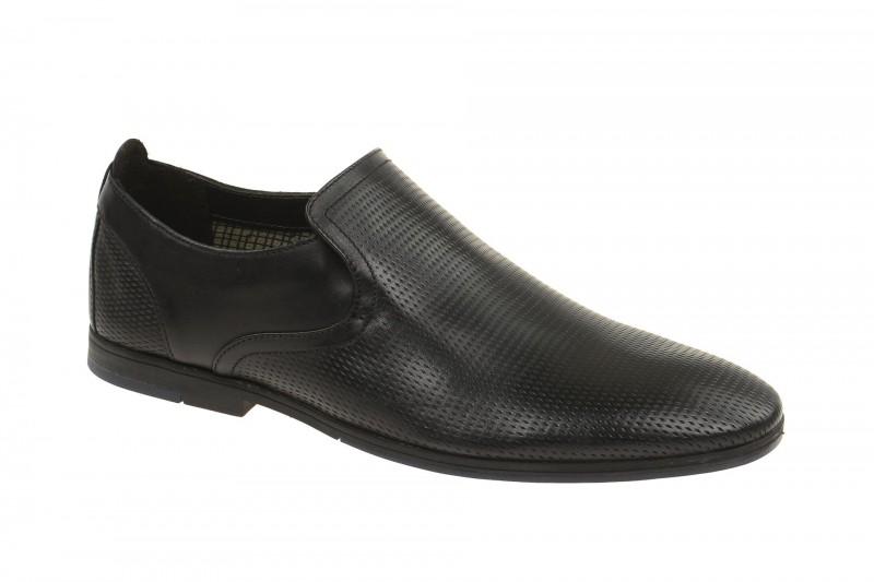 Clarks OTORO STEP elegante Slipper für Herren in schwarz