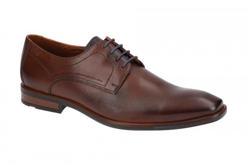 Lloyd DON elegante Halbschuhe und Schnürschuhe für Herren in dunkel-braun