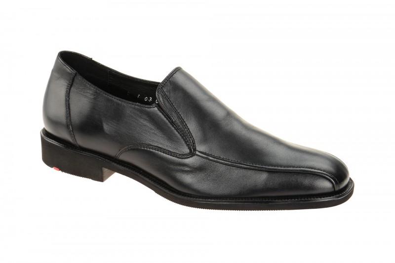 Lloyd PIO elegante Slipper für Herren in schwarz