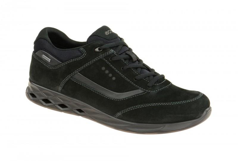 Ecco WAYFLY sportliche Halbschuhe für Herren in schwarz