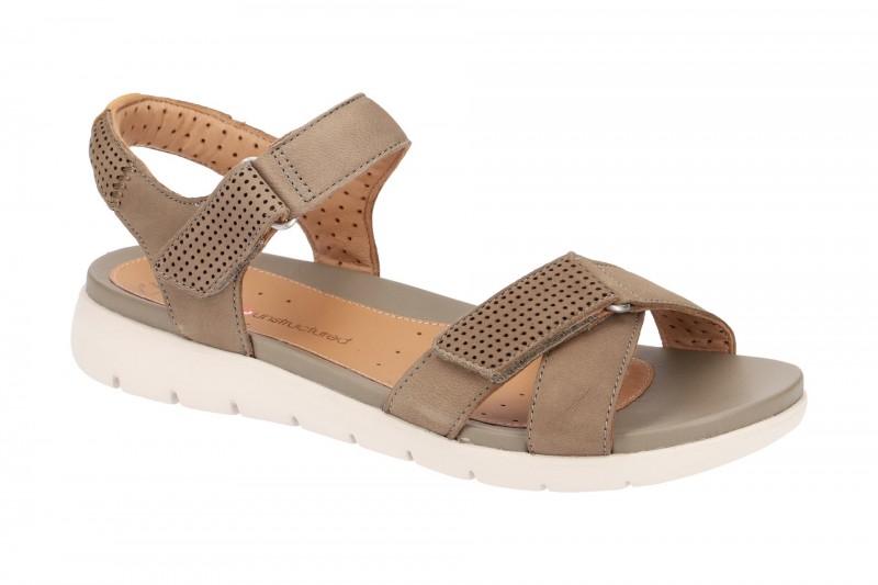 Clarks UN SAFFRON Riemchen Sandale für Damen in grün