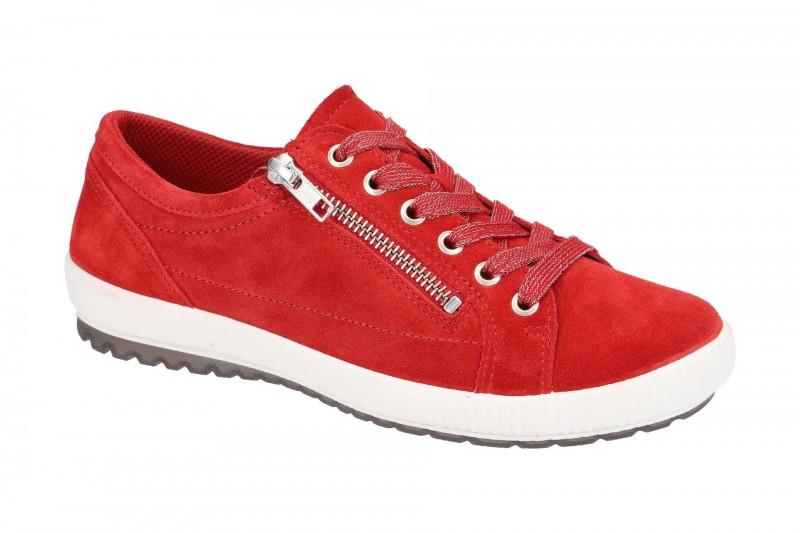 Legero TANARO 4.0 bequeme Halbschuhe für Damen in rot
